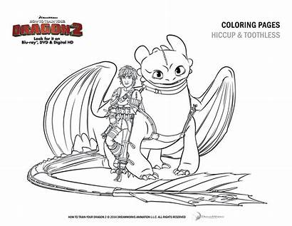 Dragon Train Coloring Hiccup Pages Toothless Colouring