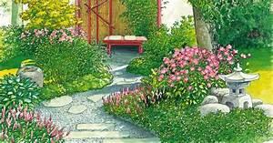 Kleine Gärten Schön Gestalten : kleinen garten gestalten schattengarten oder bl tenrausch mein sch ner garten ~ Eleganceandgraceweddings.com Haus und Dekorationen