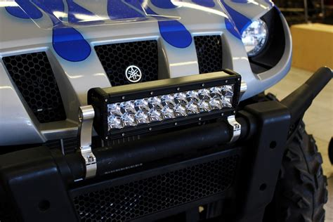 utv inc 1 190 quot billet aluminum rigid led light bar mounts
