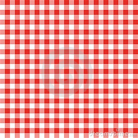 red  white checkered fabric stock images image