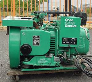 Excellent Running Onan 4 Kw Generator Only 112 3 Hours
