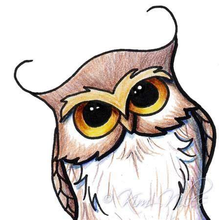 draw cartoon owls google search drawing owl