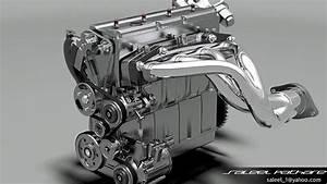 Engine Inline 4 Dohc 3d Model