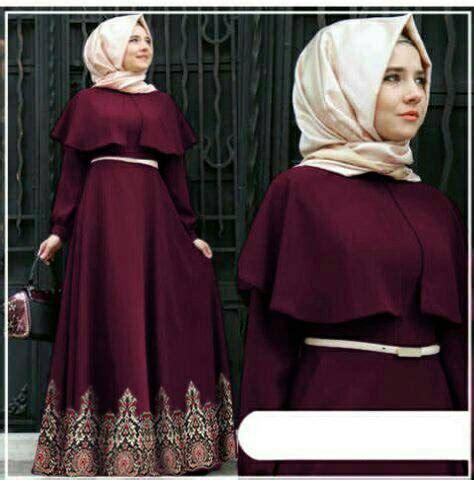jual harga hijab andiani batik maron zerofifty