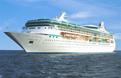 on line class vision of the seas itinerary schedule current position