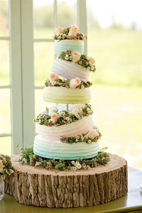 Rustic Spring Wedding Cake Cakes Pinterest