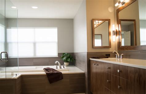 modern bath remodel highlands ranch  da vinci