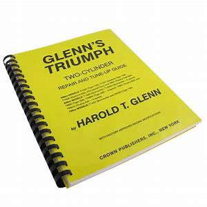 Glenn U0026 39 S Triumph Two Cylinder Repair  U0026 Tune