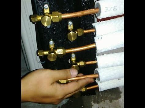 Cara Modifikasi Ac 1 Outdoor 2 Indoor by Pemasangan Hasil Modifikasi Outdoor 1 5pk Plus Water
