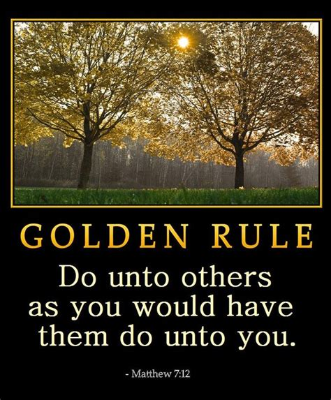 The Golden Rule Quotes. Quotesgram