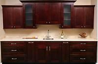 kitchen cabinet images Mocha Shaker Kitchen Cabinets | Kitchen Cabinet Kings