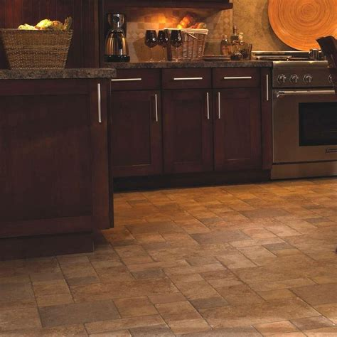 home depot kitchen floor innovations tuscan sand 8 mm thick x 15 1 2 in wide 4253