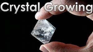 Grow Transparent Single Crystals Of Alum Salt At Home