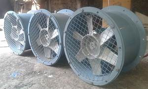 Heavy Duty Industrial Tube Axial Fans And Blowers