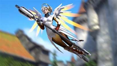 Overwatch Mercy 4k Artwork 2560 1440 Resolutions