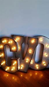 light up letters 21 metal marquee lights With metal light up letters