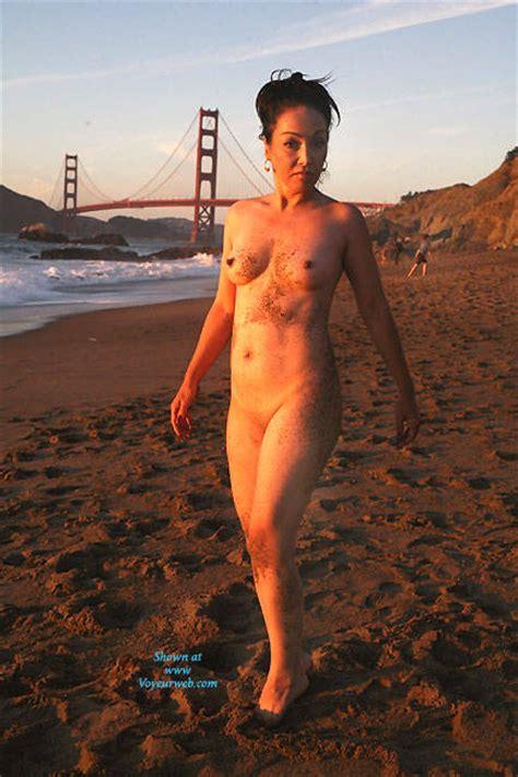 Naked Beach Brunette March Voyeur Web Hall Of Fame