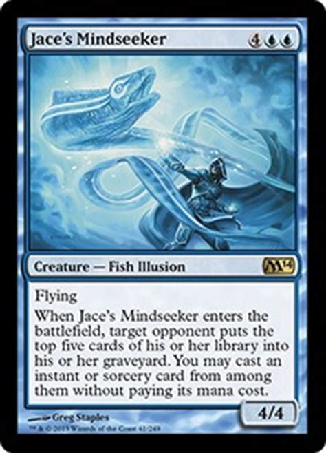mill deck mtg standard 2014 jace s mindseeker magic 2014 set gatherer magic