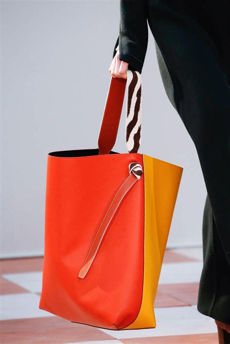 celine fallwinter  runway bag collection featuring large tote bags spotted fashion