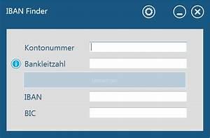 Iban Nr Berechnen : iban und bic errechnen mit freeware software ~ Themetempest.com Abrechnung