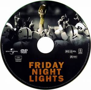 Friday Night Lights - Scanned DVD Labels - Friday Night ...