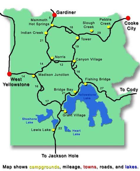 yellowstone frontcountry camping