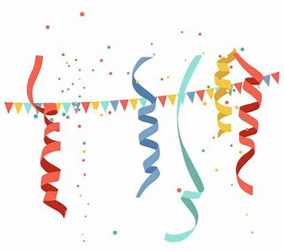 Birthday Banner Clipart Celebration Transparent Celebrate Clip
