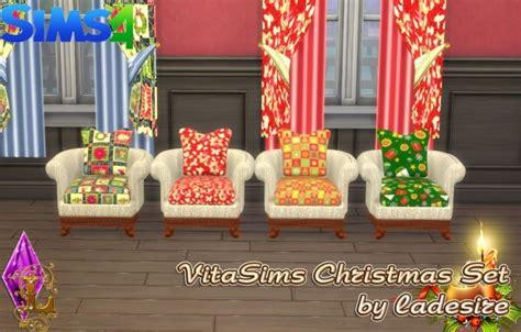 vitasims christmas set  ladesire sims  updates