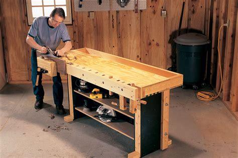 toms torsion box workbench popular woodworking magazine
