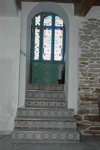 Escalier Carreaux De Ciment : carreaux ciment anciens et de paray le monial synop sys ~ Dailycaller-alerts.com Idées de Décoration