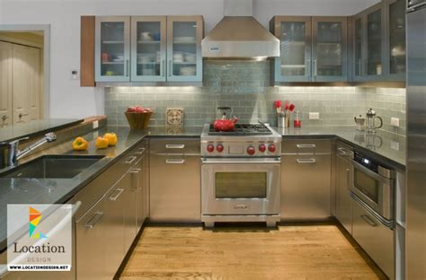 stainless steel kitchen designs stainless steel kitchen designs location design net 5724