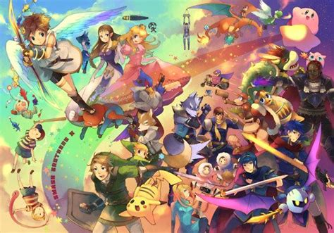Community Blog By Agent9 Smash Brothers My Biggest Rival