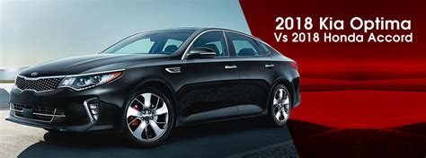 Crown Kia by 2018 Kia Optima Vs 2018 Honda Accord At Crown Kia Of Dublin