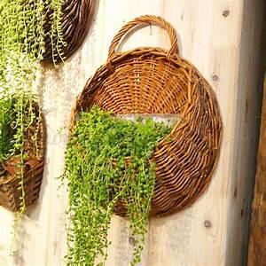 Flower, Planter, Wall, Hanging, Basket, Garden, Outdoor, Indoor, Holder, Home, Decoration