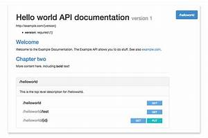 free and open source api documentation tools pronovix With api documentation template word
