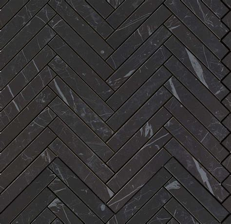 black and white herringbone tile marvel nero marquina herringbone wall