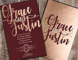 Best 25 burgundy wedding ideas on pinterest burgundy for Rose gold winter wedding invitations