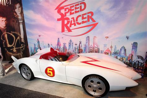 Speed Racer Mach 5 For Sale, And The Deathrace Truck Found