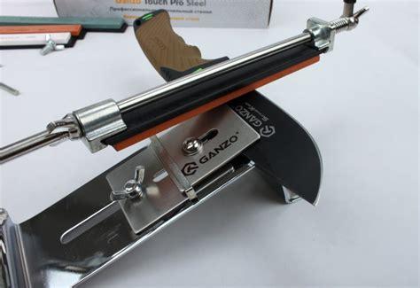 best kitchen knive set ganzo touch pro steel gtps knife sharpener professional
