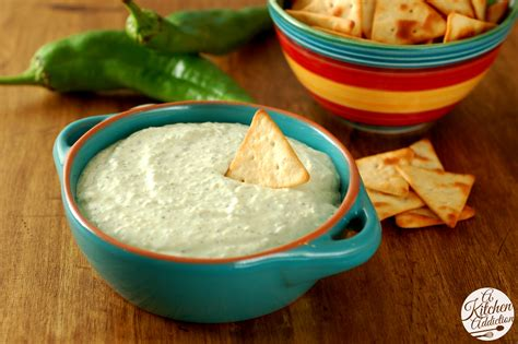 recipe dips creamy roasted hatch chile dip a kitchen addiction