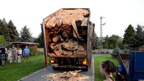 Hat Mächtig Holz Vor Der Hütte Youtube