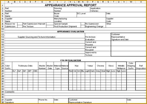 supplier approval form template fabtemplatez