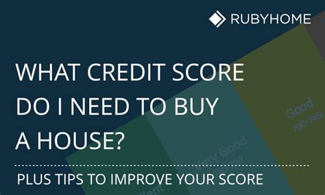 what credit score do i need to buy a house house plan 2017