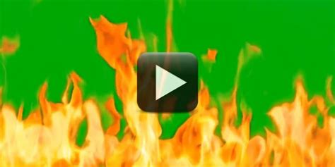 fire green screen    design creative