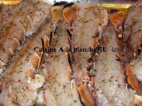 cuisine langouste plancha queues de langoustes aux achards de citrons verts