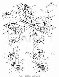 Troy Bilt 13au609h063  1999  Parts Diagram For Pto Manual