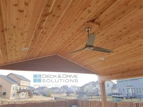 new roof over existing deck des moines deck builder deck and solutions