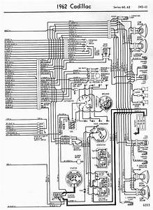 Wiring Diagrams Schematics 1962 Cadillac Series 60 And 62 Part 2