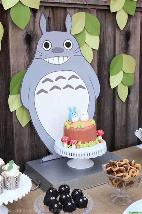 sadies  neighbor totoro birthday party