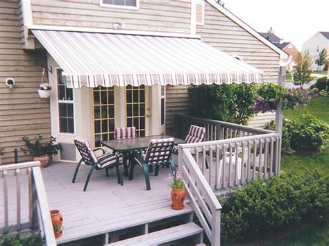 awnings for decks sunstar 174 retractable awnings retractable deck patio